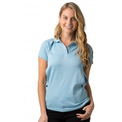 Ladies Polo w. Contrasting Piping - BSP36L
