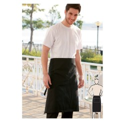 COTTON DRILL THREE QUARTER APRON -NO POCKET - WA0392