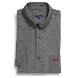 Iconic Chambray S/S Black - 5045SN