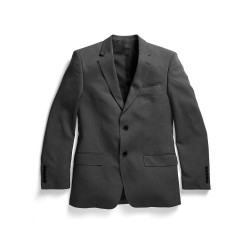Men's Two Button Jacket Charcoal - 1728MJ