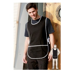 COTTON DRILL POPOVER APRON -WITH POCKET - WA0398