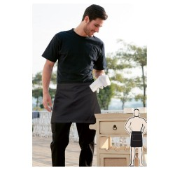 POLYESTER DRILL QUARTER APRON -NO POCKET - WA0620