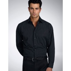 Men's Long Sleeve Fine Stripe - 206