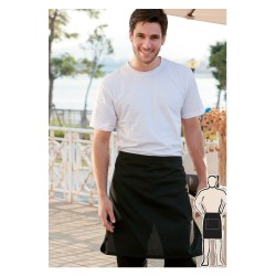 COTTON DRILL HALF APRON -NO POCKET - WA0671
