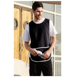 POLYESTER DRILL POPOVER APRON -WITH POCKET - WA0676