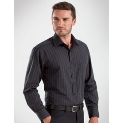 Mens Long Sleeve Dark Stripe - 452