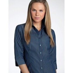 Womens 3/4 Sleeve Bold Stripe - 342