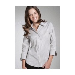 ARGENTO LADIES SEMI FITTED 3/4 SLEEVE SHIRT - 6070Q13