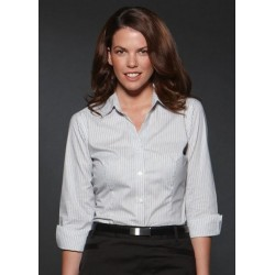 ARGENTO LADIES FITTED 3/4 SLEEVE SHIRT - 6200Q13