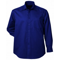 Ladies Firenze L/S Shirt Navy - 2030