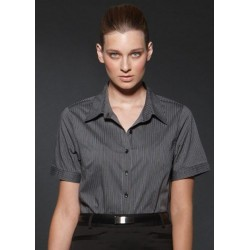 ARGENTO LADIES FITTED SHORT SLEEVE SHIRT - 6200S13