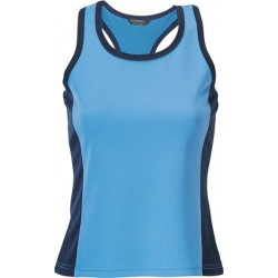 Ladies Cool Dry S/S Singlet BB/N - 1110F