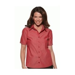 MODEL STRIPE LADIES EASY FIT SHORT SLEEVE SHIRT - 6220S12