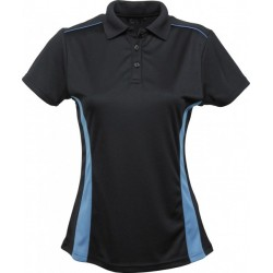 Ladies Player S/S Polo B/MB - 7111