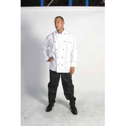 200gsm Polyester CottonClassic Chef Jacket, L/S - 1112