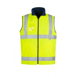 Hi Vis Lightweight Fleece Lined Vest - ZV358