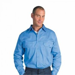 190gsm Cotton Drill Work Shirt with Gusset Sleeve - L/S - 3209