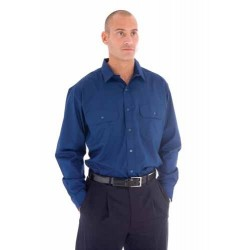 110gsm Polyester Cotton Work Shirt L/S - 3212