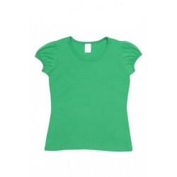 Girls short puff sleeve - T301GL