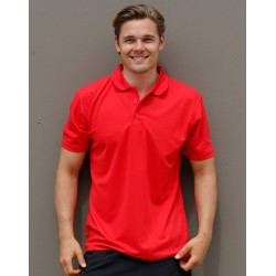 Mens CoolDry Polyester Pique Polo - PS81