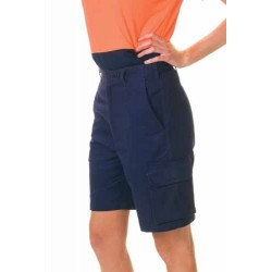 311gsm Ladies Cotton Drill Cargo Shorts - 3308