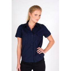Ladies Military Short Sleeve Shirt - S002FS