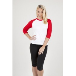 Ladies 3/4 Sleeve Raglan Tee - T231RL