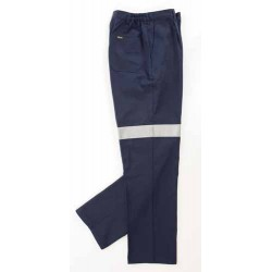 311gsm Ladies Cotton Drill Trousers with 3M R/Tape - 3328