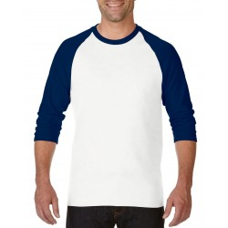 Heavy Cotton Adult 3/4 Raglan T-Shirt - 5700