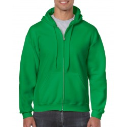 Heavy Blend Adult Full Zip Hooded Sweatshirt - 18600