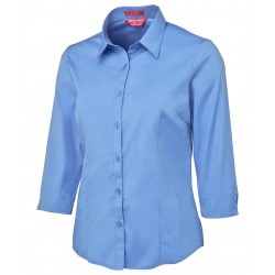 LADIES URBAN 3/4 POPLIN SHIRT - 4PLU3