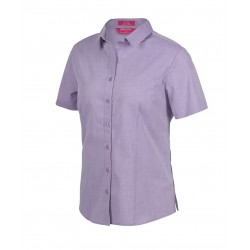 Ladies Classic S/S Fine Chambray Shirt - 4FC1S