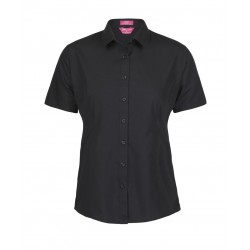 Ladies Classic S/S Poplin Shirt - 4PS1S