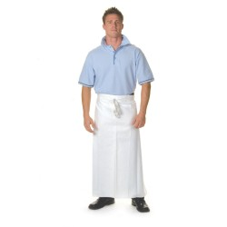 290gsm Cotton Drill Continental Apron-No Pocket - 2402