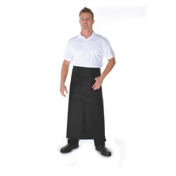200gsm Polyester Cotton Continental Apron- With Pocket - 2411