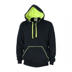 285gsm Full zip super brushed Fleece hoodie - 5424