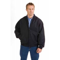 21OZ 90% Wool Blend Bluey Jacket with Ribbing Collar & Cuffs - 3