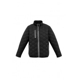 Unisex Hi Vis Hexagonal Puffer Jacket - ZJ420