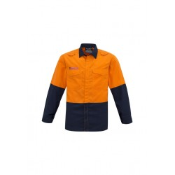 Mens Hi Vis Spliced Shirt - ZW138