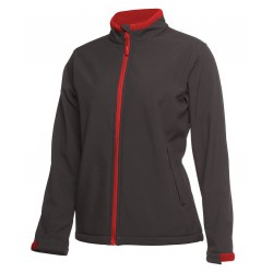 PODIUM LADIES WATER RESISTANT SOFTSHELL JACKET - 3WSJ1