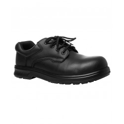 JB's MICROFIBRE LACE UP STEELTOE SHOE - 9C4