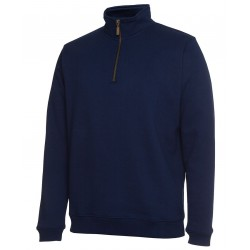COC 1/2 ZIP BRASS ZIP SWEAT - S3FSZ