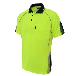 HiVis GALAXY Sublimated Polo - 3564