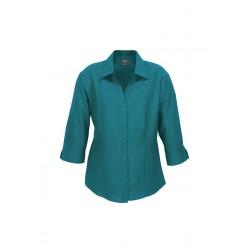 Oasis Ladies 3/4 Sleeve Shirt - LB3600