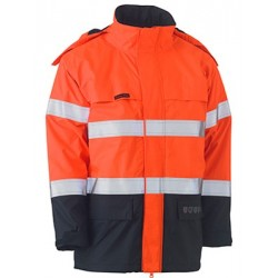 TAPED HI VIS FR WET WEATHER SHELL JACKET - BJ8110T