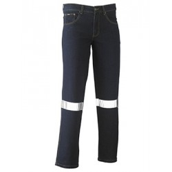 3M TAPED ROUGH RIDER STRETCH DENIM JEAN - BP6712T