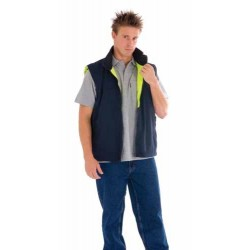 290gsm Polyester Polar Fleece Reversible Vest - 3826
