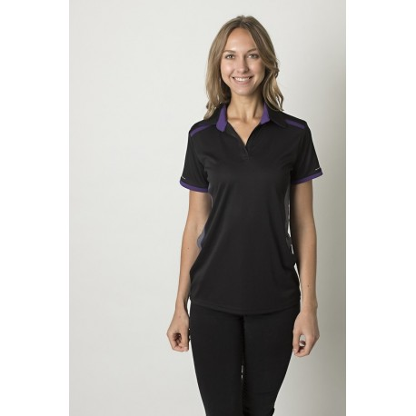 6fcdb3ca0e Ladies polo with contrast shoulder panel - BKP500L - Workwear Clothing  Online
