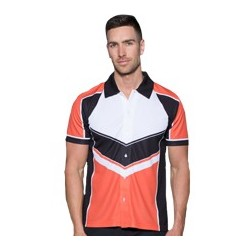 Sublimated 'DYO' Sports Button Up Polo - AP Polo