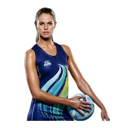 Sublimated 'DYO' Sports Netball Dress - AP Netball Dress